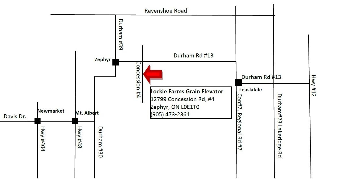 About Us Lockie Farms Grain Elevator - Us grain elevator map